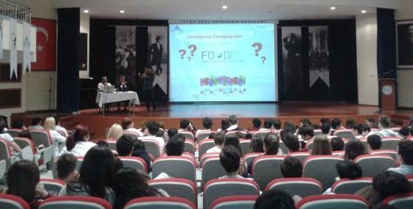 """Foder """"Bütçesini Bilen Gençler"""" Etkinliği Kapsamında Finansal Okuryazarlık Eğitimleri Veriyor"""