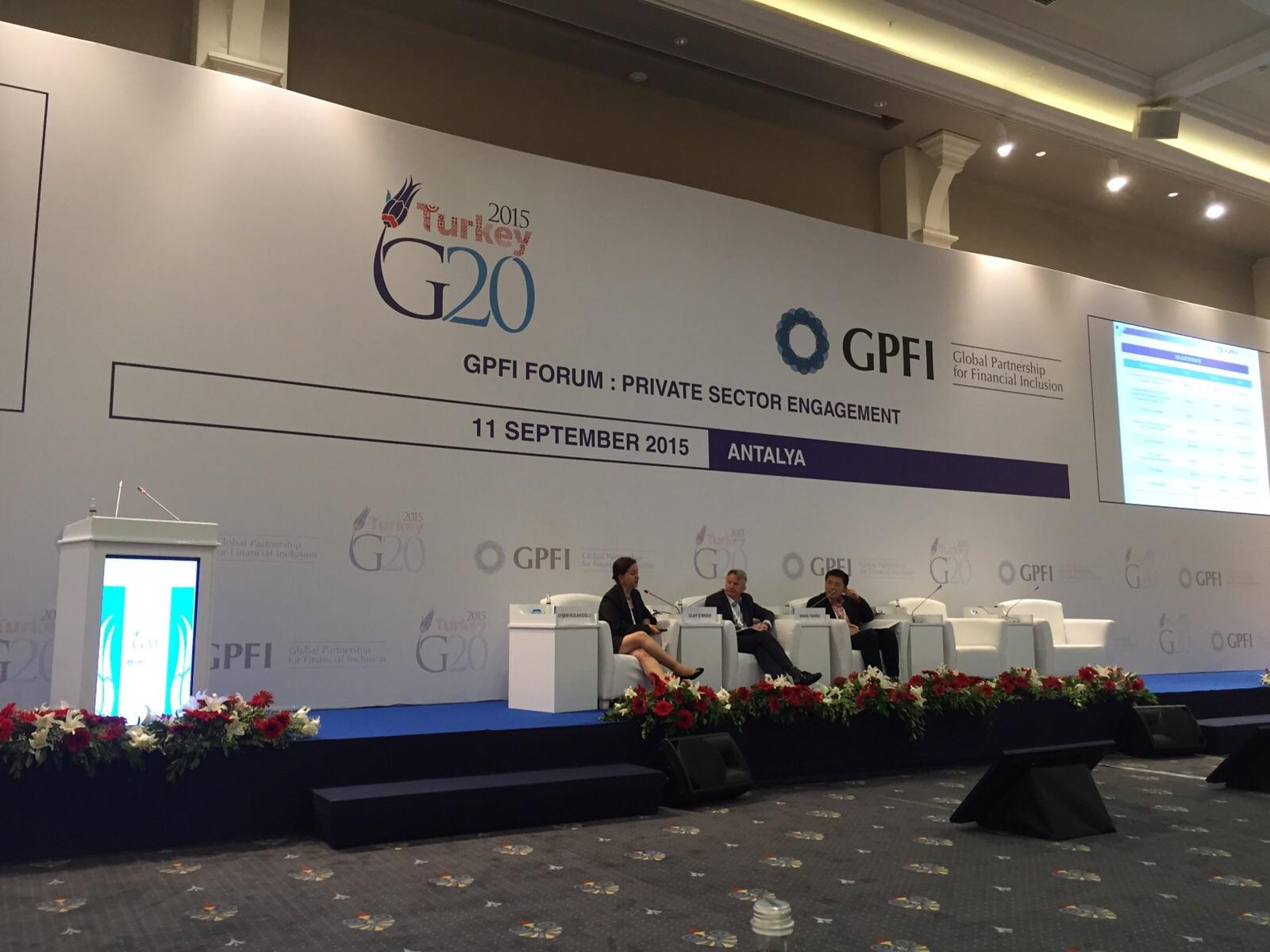GPFI G20 Zirvesi Antalya'da Gerçekleşti