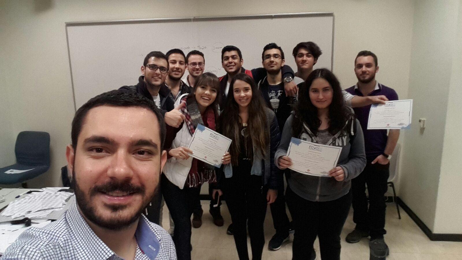 """Sabancı Üniversitesi Öğrencilerine """"Parayön"""" Projesi İle Finansal Okuryazarlık Eğitimleri Verildi"""