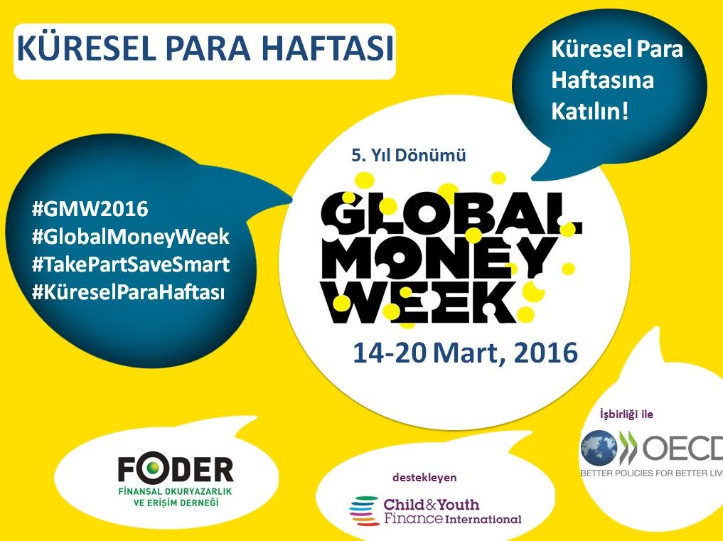 Foder'e Katılın, Küresel Para Haftası Coşkusunu Mart Ayında Hep Birlikte Paylaşalım!