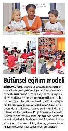 Mektebim Okulları'ndan finansal okuryazarlığın içinde olduğu yeni motto: Bütünsel Eğitim Modeli
