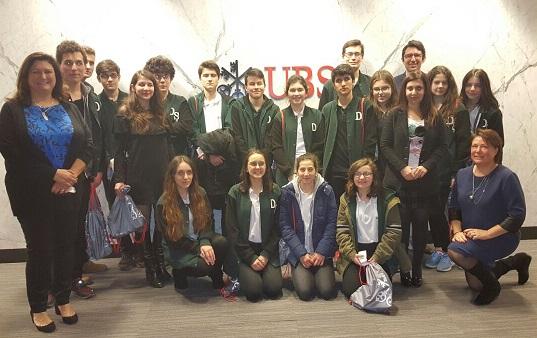 FODER –  Darüşşafaka Finansal Okuryazarlık ve MBA Jr Kulübü Öğrencileri UBS Türkiye'yi  Ziyaret Etti