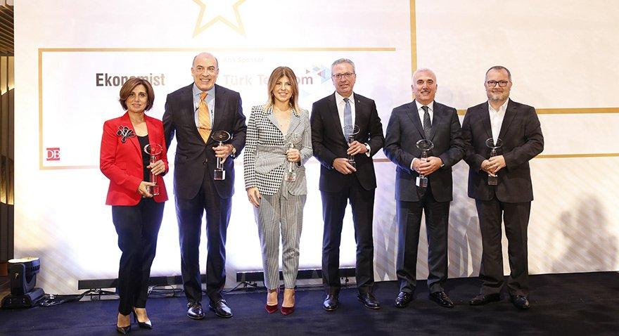 """""""Yılın İş İnsanları"""" Ödülleri Sahiplerini Buldu"""